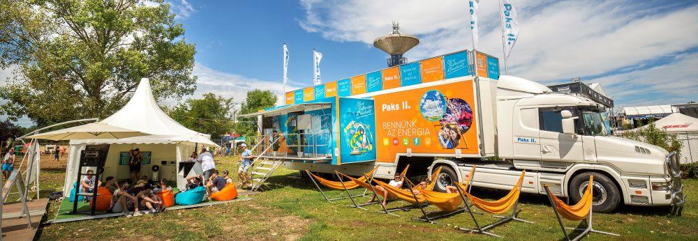 Hazajön az Atomexpo Díjas tájékoztató kamion