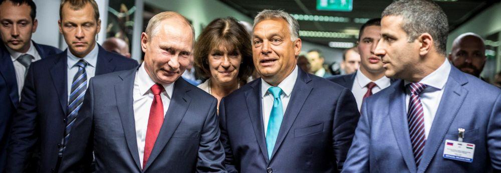 Владимир Путин в Будапеште