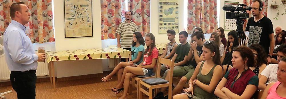 Megnyílt a XXIV. Határon túli magyar középiskolások tábora