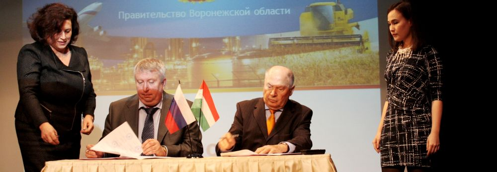 Fejlődő gazdasági kapcsolatok Voronyezs megyével