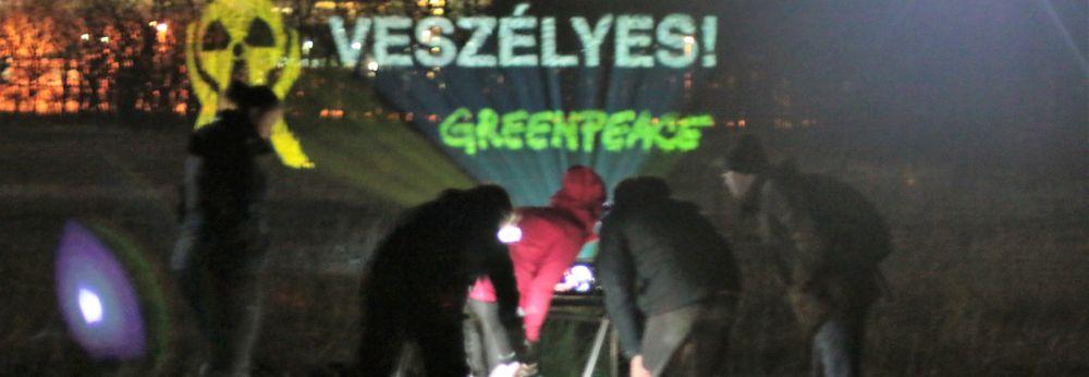 Áramot csinált a Greenpeace