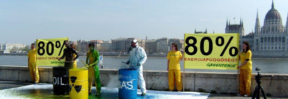 Greenpeace, show - függőség