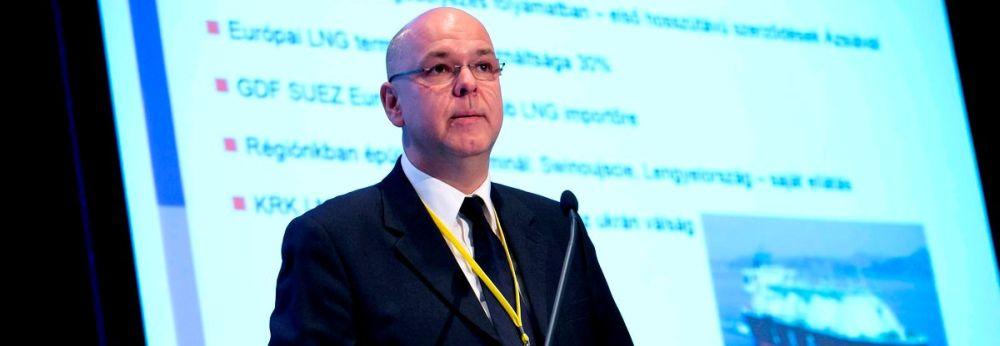 Csiba Péter az MVM új elnök vezérigazgatója