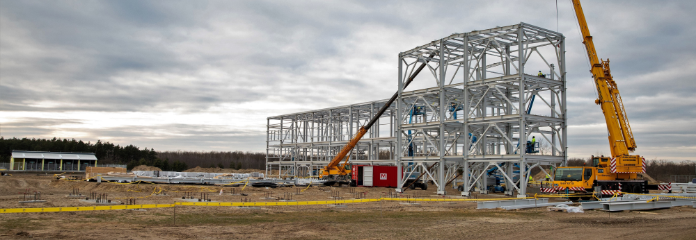 Készülnek az erőműépítést kiszolgáló létesítmények