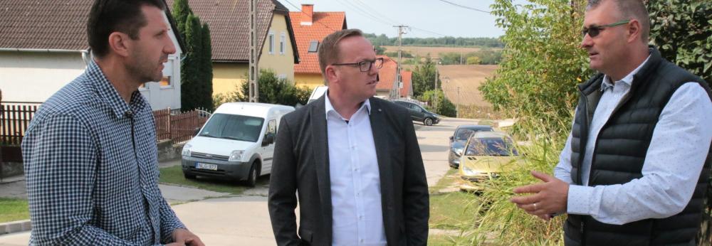 Ritter Zoltán és Müller Attila sajtótájékoztatója