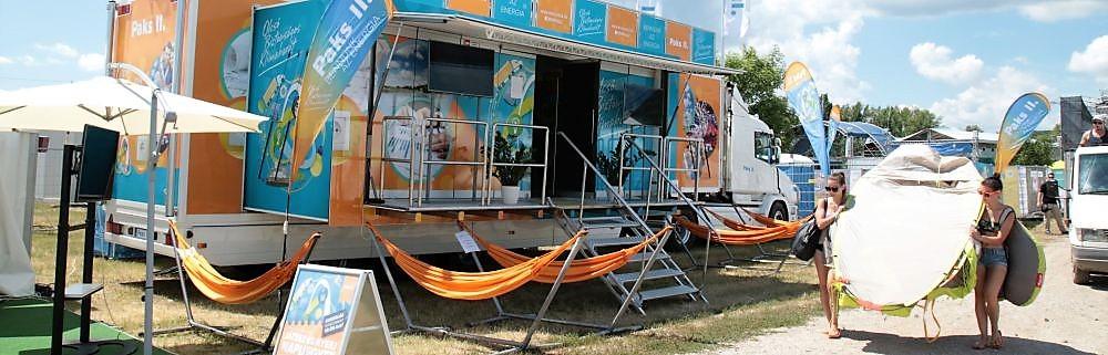 Campus Sportfesztivál - a Paks II. tájékoztató kamionjával