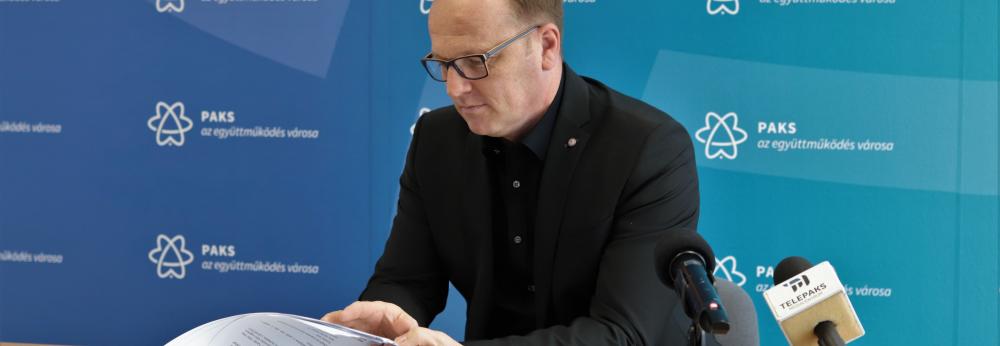 Szabó Péter sajtótájékoztatója