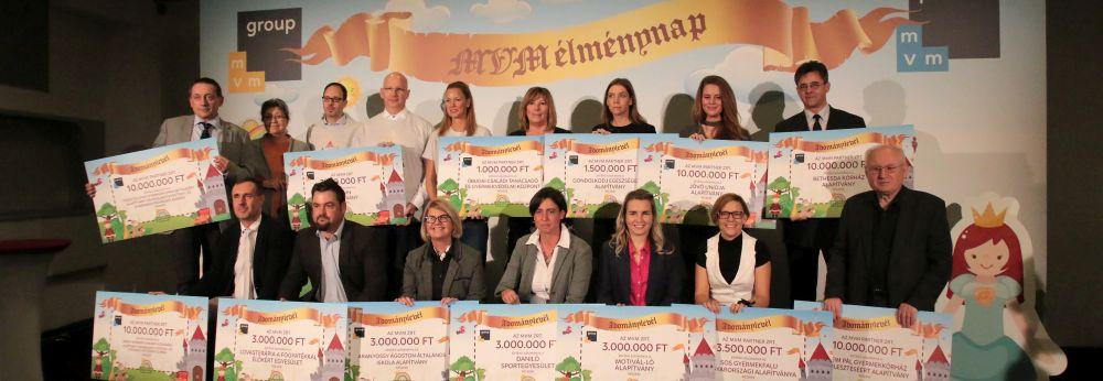 Gyermekkórházakat és alapítványokat támogat az MVM