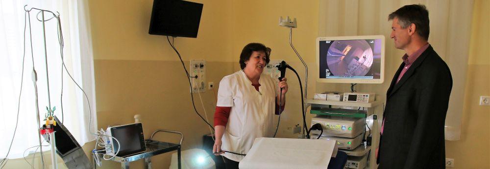 Átadták a város új gasztroenterológiai rendelőjét