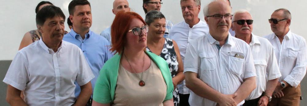 Heringes Anita polgármester-jelölti terveiről beszélt
