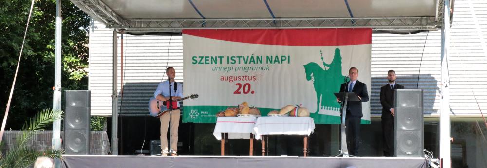 Szabó Péter: gyarapodó jövőt építhetünk Szent István örökségéből