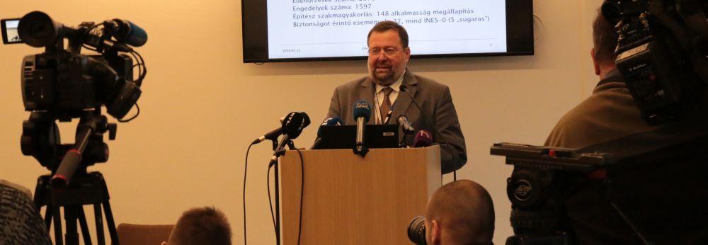 OAH: Továbbra is biztonságosak a nukleáris létesítmények