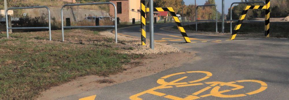 Dunakömlődi kerékpárút – műszaki átadás