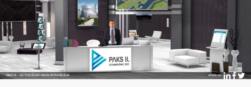 Virtuális állásbörzén a Paks II. Zrt.