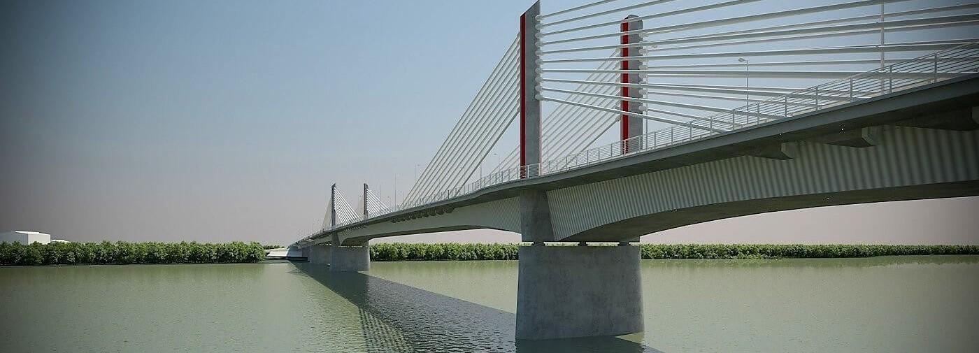 A Duna Aszfalt az új paksi híd kivitelezője