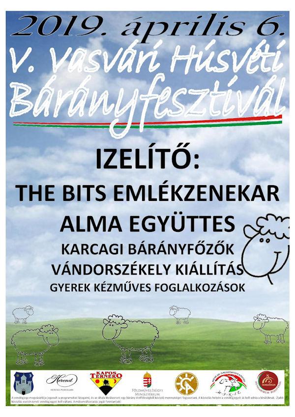 Vasvári Húsvéti Bárányfesztivál 2019 programok